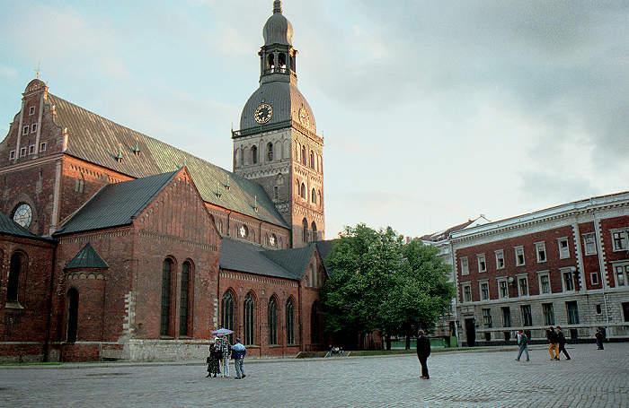 De dom van riga de mooiste toren van riga - Verblijf kathedraal ...